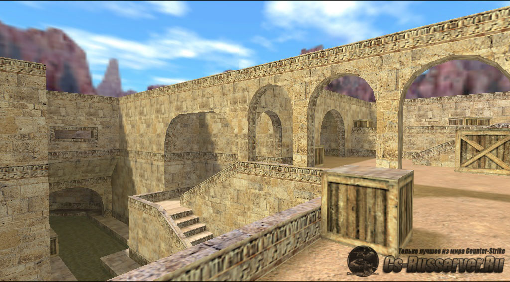 Карта  de_dust20022 для сервера CS 1.6